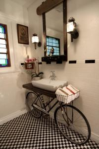 Whimsical Bicycle Vanity